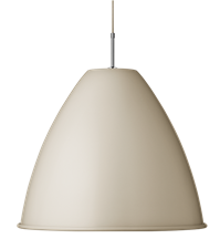 Lampa sufitowa Gubi, model Bestlite BL9 XL, kolor Off-White/Chrome