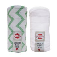 Pieluszki 2-pack Lodger Swaddler Anise/White