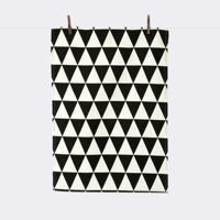 Ściereczka Ferm Living Triangle Black